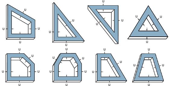 fenster in sonderformen f r plisseemontage richtig ausmessen. Black Bedroom Furniture Sets. Home Design Ideas